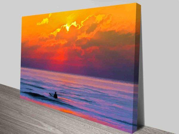 Dusk Vigilance Surf Art Online Gallery Sale