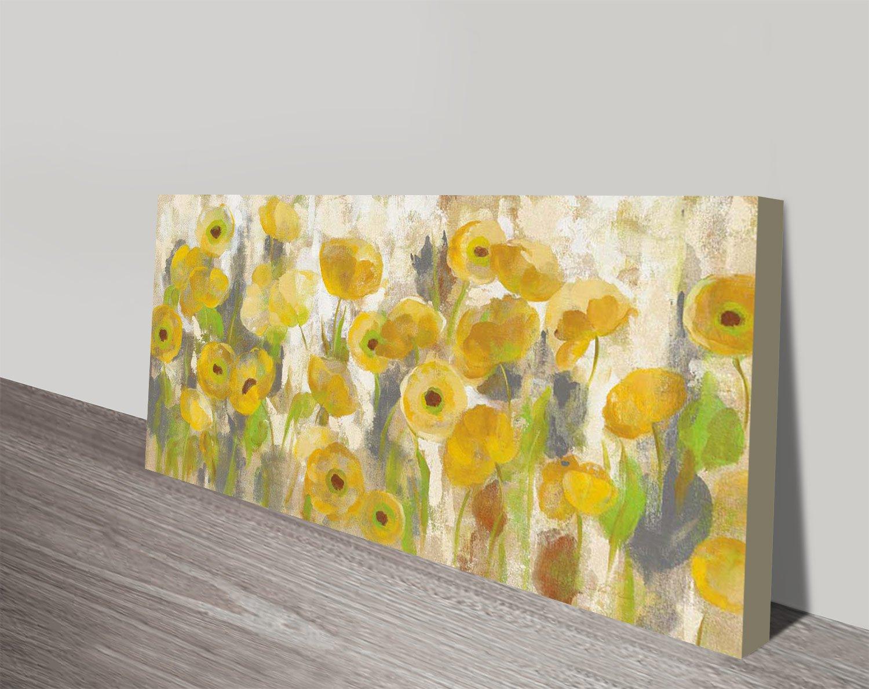 Floral Stretched Canvas Silvia Vassileva Art AU