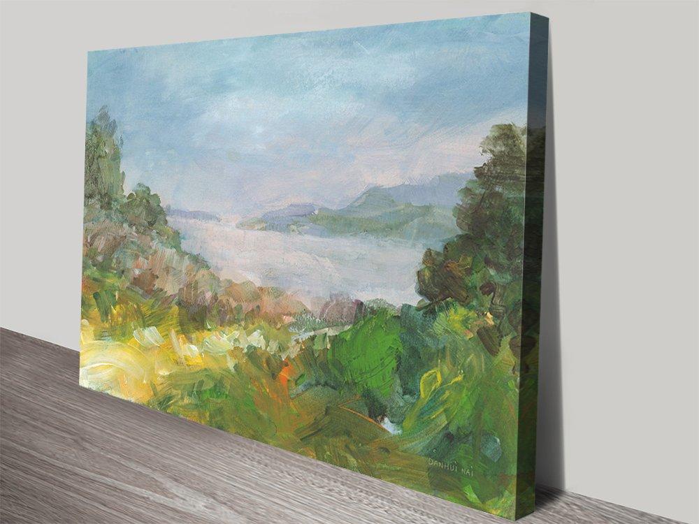 Hidden Sea Seascape Print on Canvas