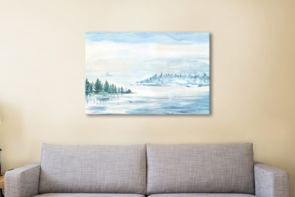 Lake Fog Artwork Home Decor Ideas Online