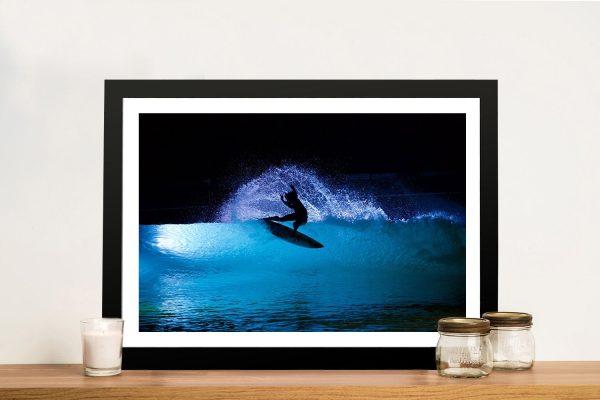 Night Surf Wall Art Great Gift Ideas Online