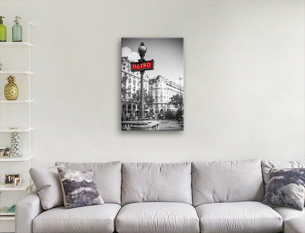 Paris Metro Sign Print Home Decor Ideas AU