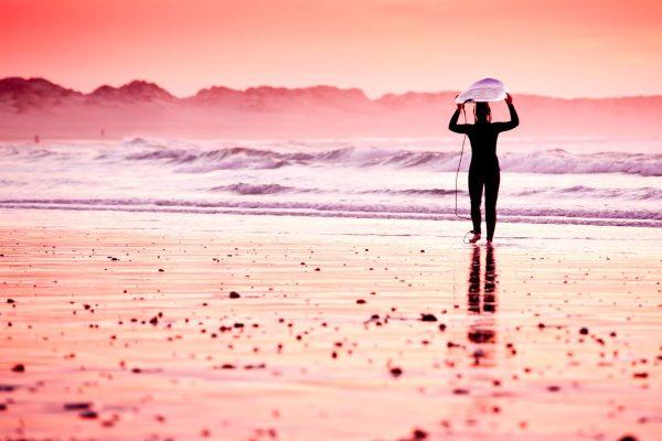 Pink Surf Wall Art Home Decor Ideas Online