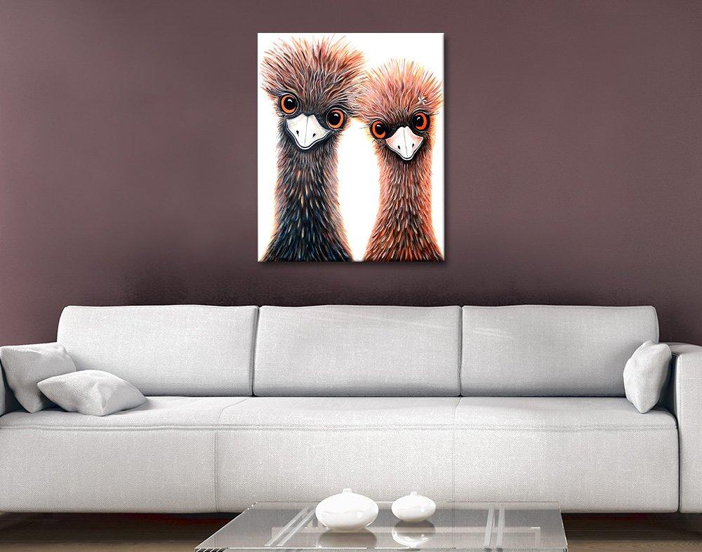 Ready to Hang Linda Callaghan Emu Art