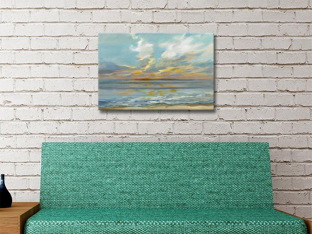 Rhythmic Sunset Waves Silvia Vassileva Prints AU