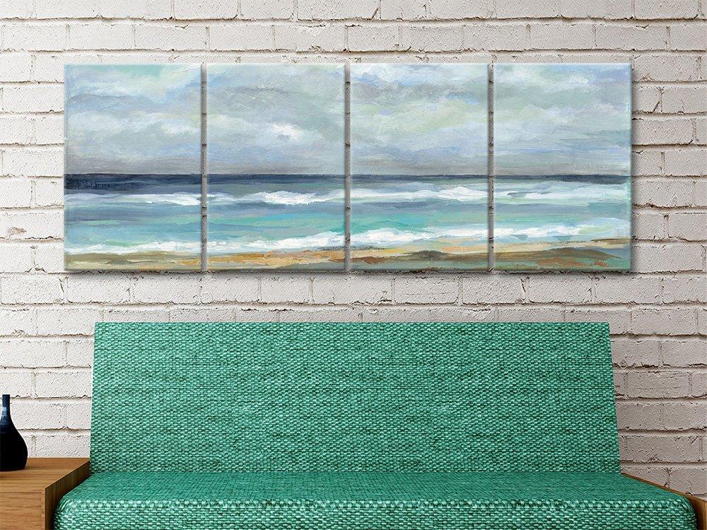 Seashore Split Panel Ready to Hang Seascape