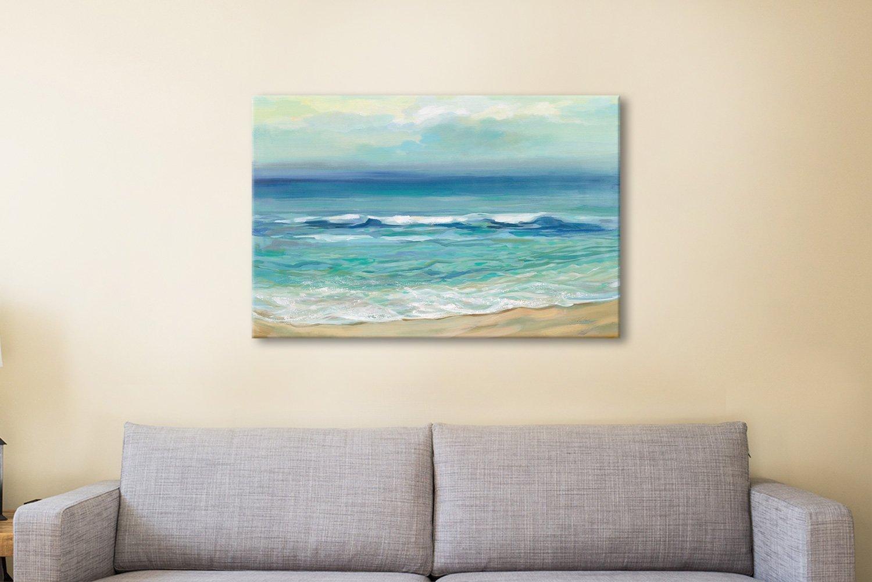 Seaside Sunrise Ready to Hang Seascape Art AU
