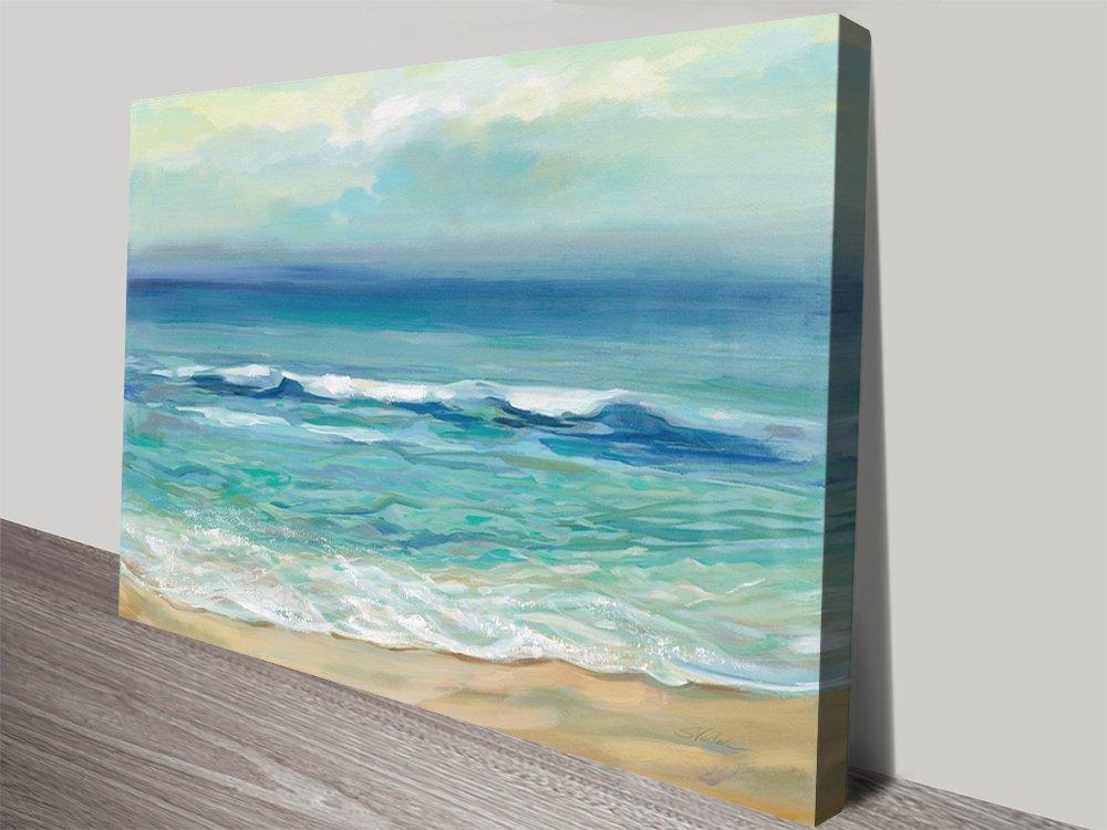 Seaside Sunrise High-Definition Art Prints AU