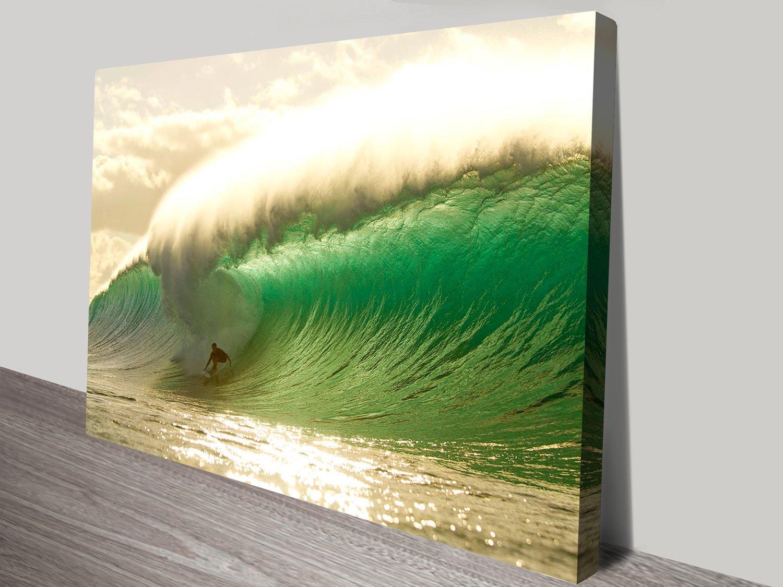 Pipeline Surf Art Unique Home Decor Online