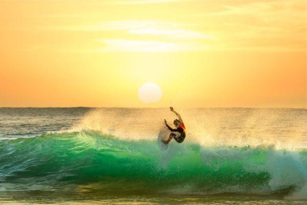 Sunset Slide Surf Art Unique Gift Ideas AU