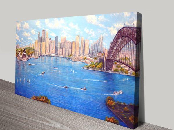 Sydney Harbour Art Home Decor Ideas AU