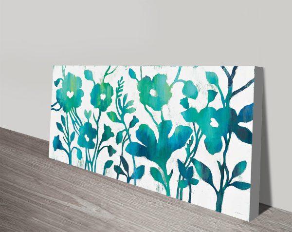 Silvia Vassileva Ready to Hang Abstract Floral Art