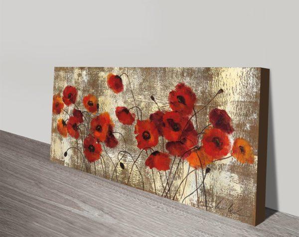 Tender Poppies Floral Print Gift Ideas Online