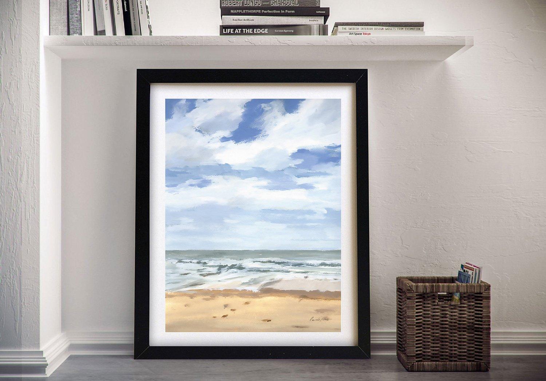 Walk on the Beach ll Framed Wall Art