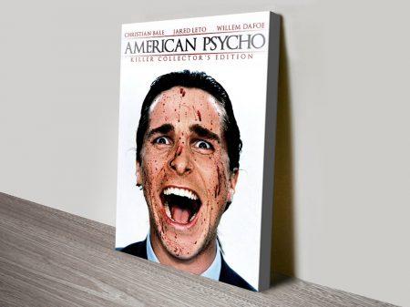 American Psycho Christian Bale Wall Art