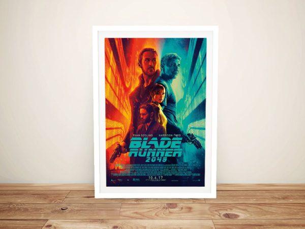 Blade Runner 2049 Movie Poster on Canvas