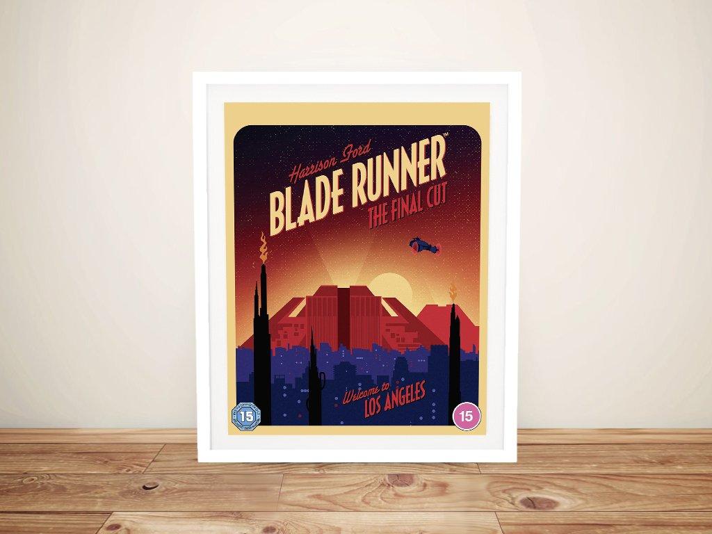 Framed Blade Runner Film Poster for Sale