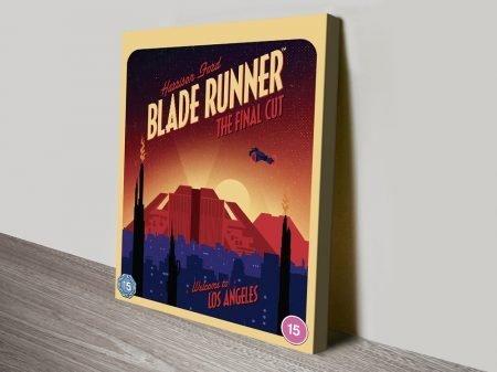 Blade Runner Retro Style Movie Poster