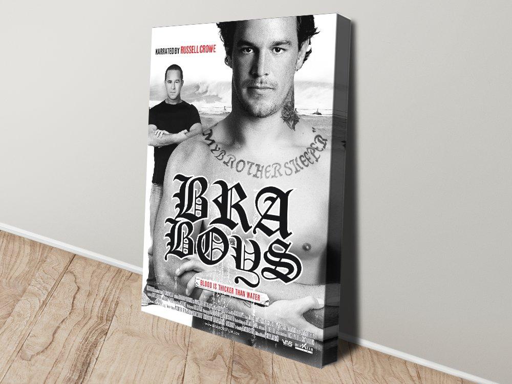 Bra Boys Stretched Canvas Film Poster AU