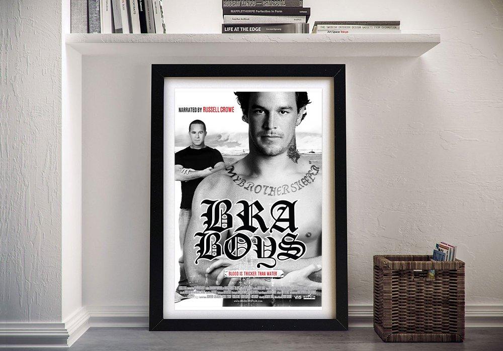 Bra Boys Movie Poster Print on Canvas