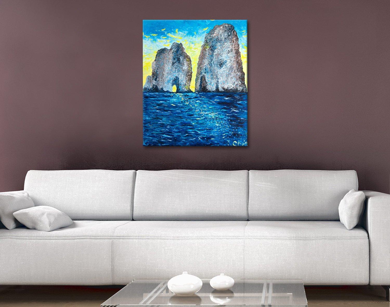 Capri at Sunrise Artwork Home Decor Ideas AU