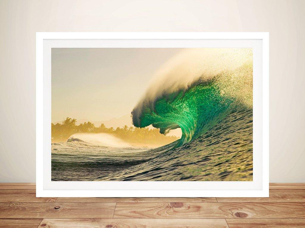Empty Waves Framed Zak Noyle Wall Art AU
