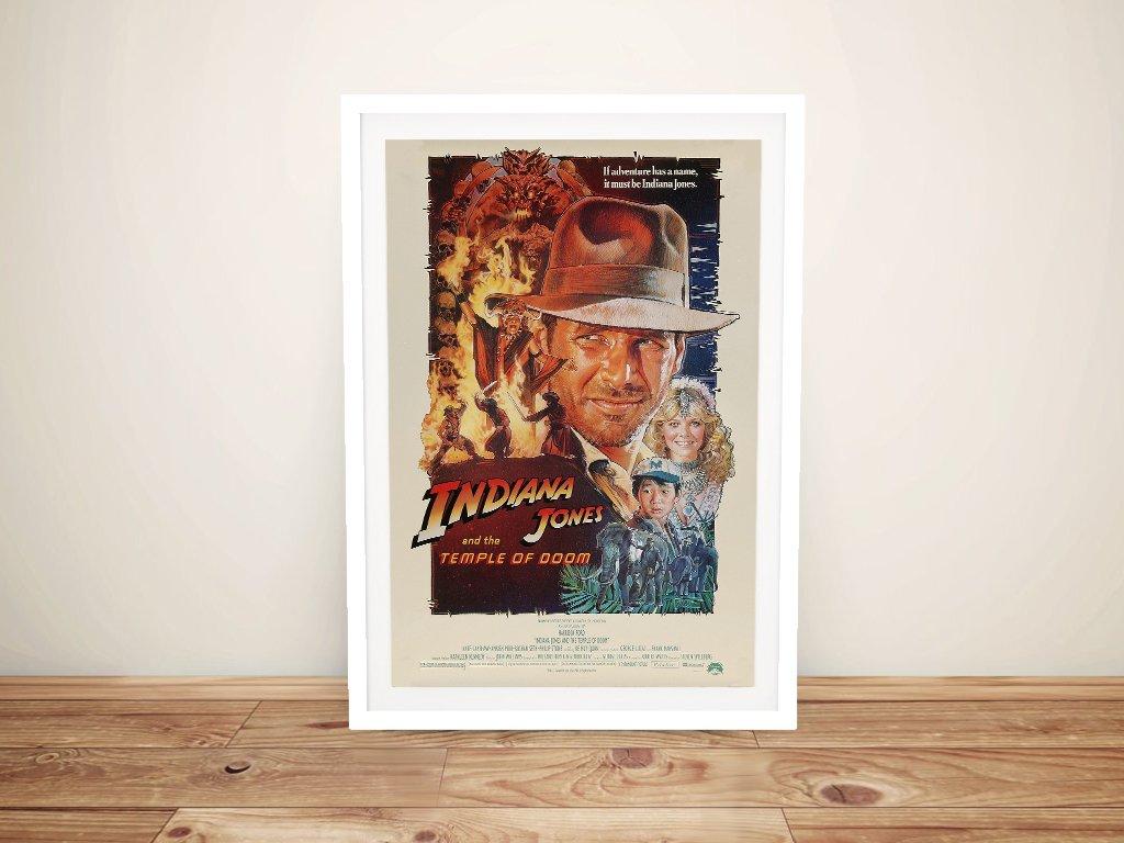 Buy a Framed Temple of Doom Film Poster