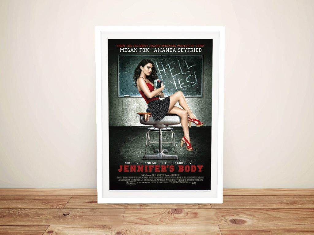 Jennifers Body Framed Film Poster for Sale