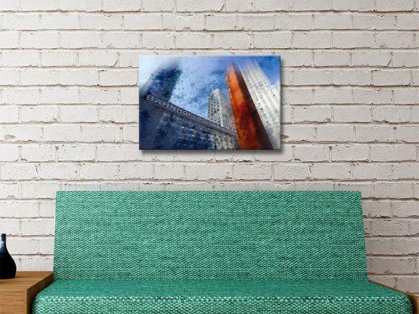 Berlin Skyscrapers Art Print Great Gift Ideas AU