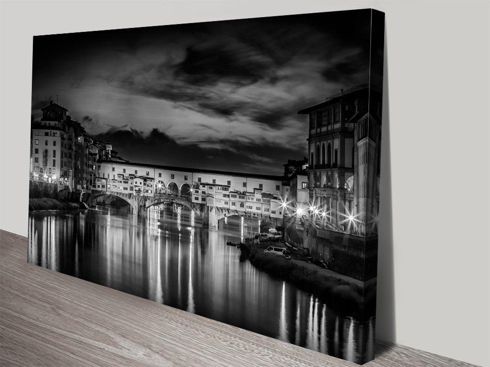 Ponte Vecchio at Sunset Melanie Viola Cityscape