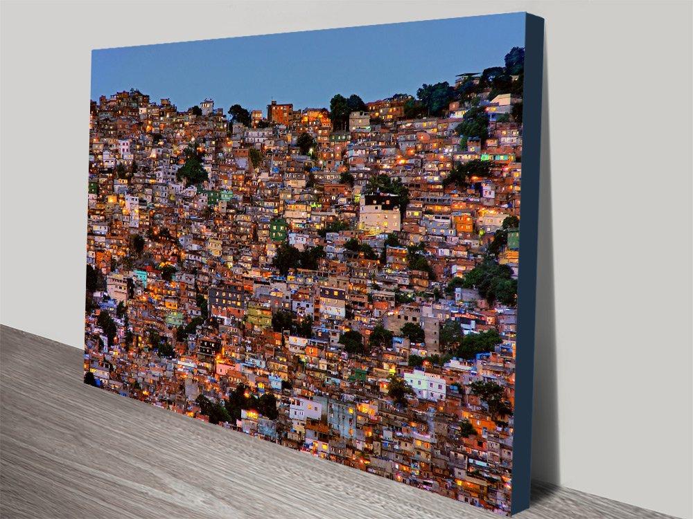 Rio de Janeiro Stretched Canvas Art for Sale AU
