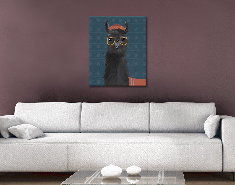Delightful Alpacas Julia Purinton Wall Art AU