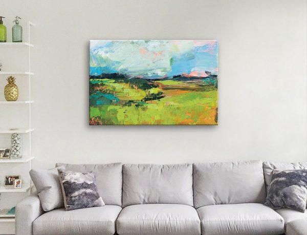 Quag Abstract Landscape Art Cheap Online
