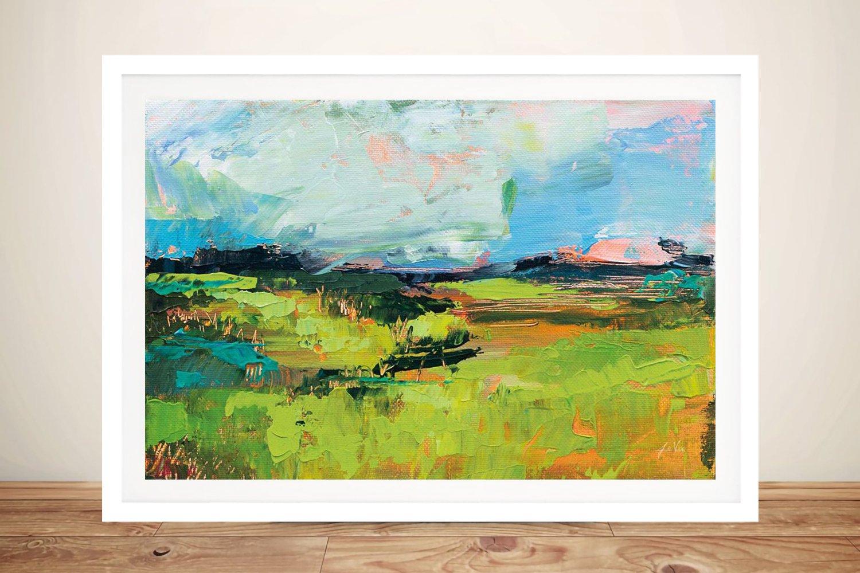 Buy a Framed Print of Quag Landscape Art