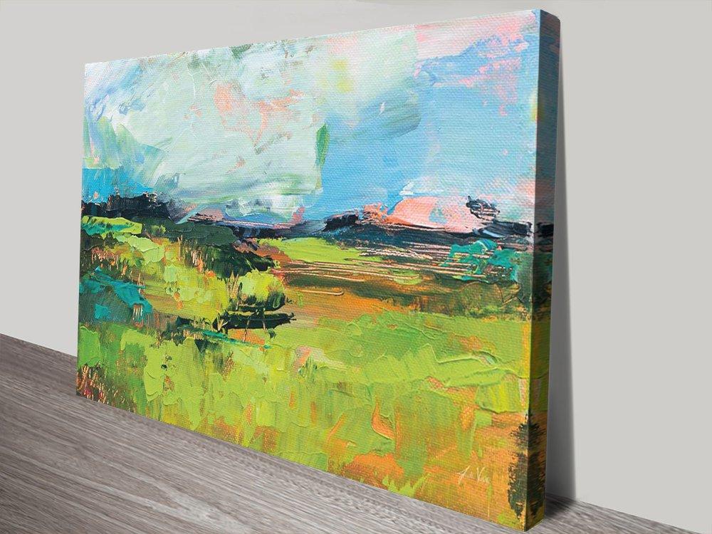 Quag Stretched Canvas Quality Art Print AU