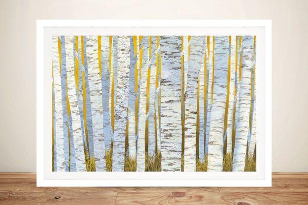 Framed Aspen Grove Print Home Decor AU
