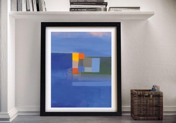 Evening Light Framed Jo Maye Abstract Art