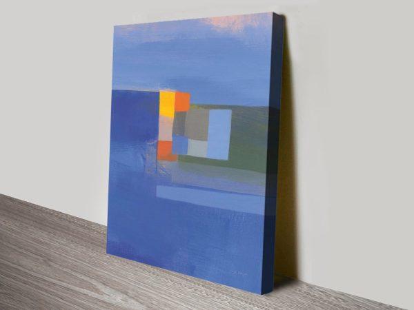 Evening Light Striking Abstract Wall Art AU