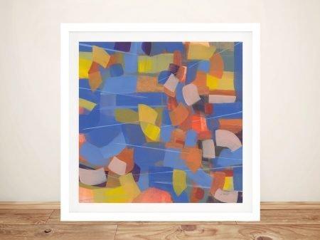 Intensity Jo Maye Framed Abstract Art