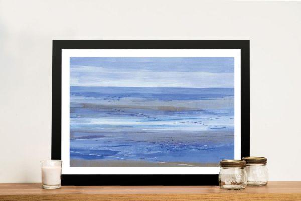 Framed Jo Maye Abstract Seascape Online