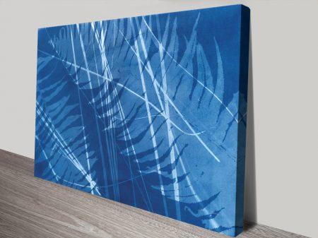 Cyanotype Xl Ready to Hang Canvas Print