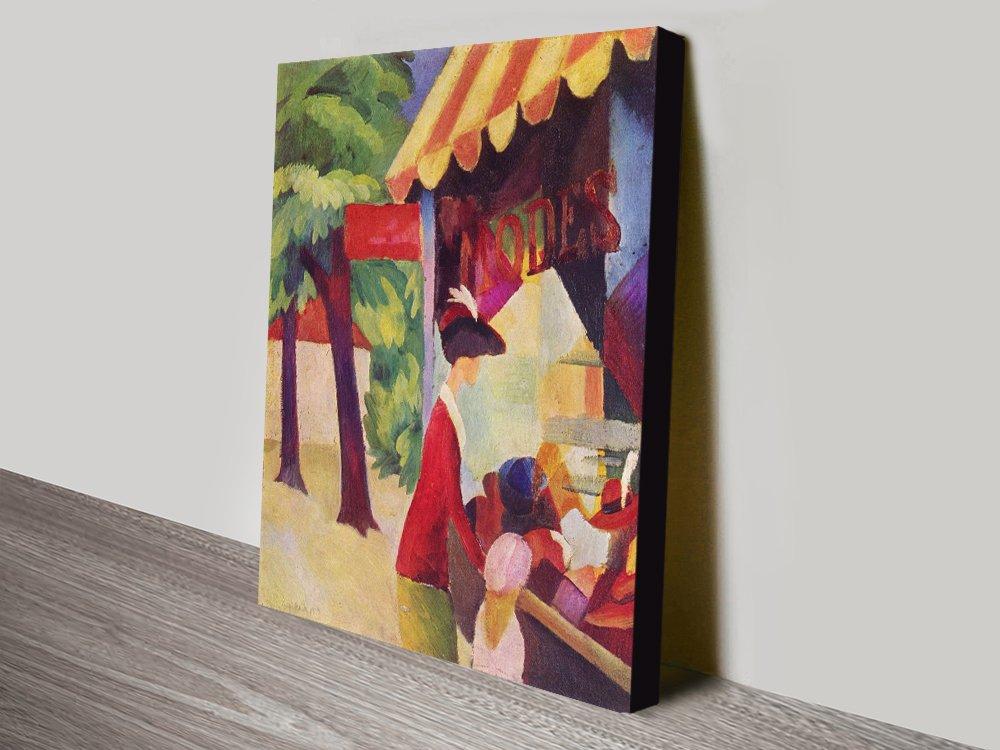 Buy Before Hutladen August Macke Artwork