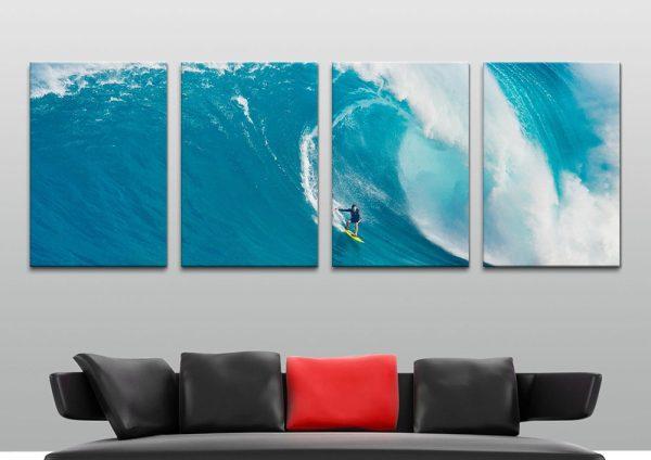 Affordable Split Panel Surf Art Home Decor AU