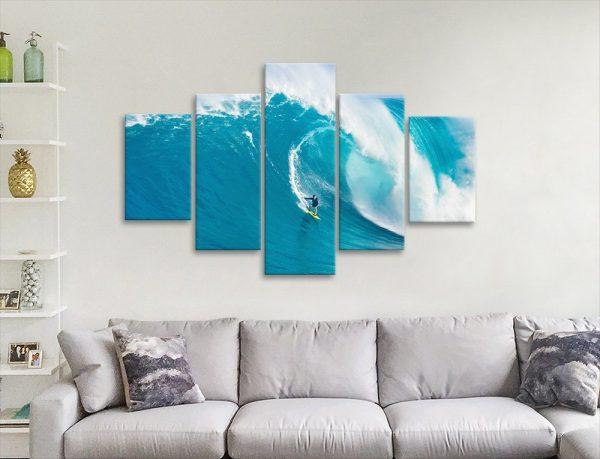 Split Panel Surf Prints Unique Gift Ideas AU