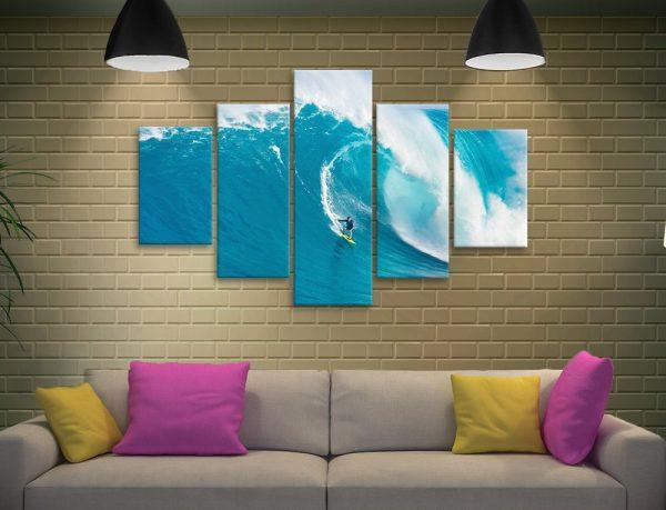 Buy a Big Sets Split Diamond Surf Art Set