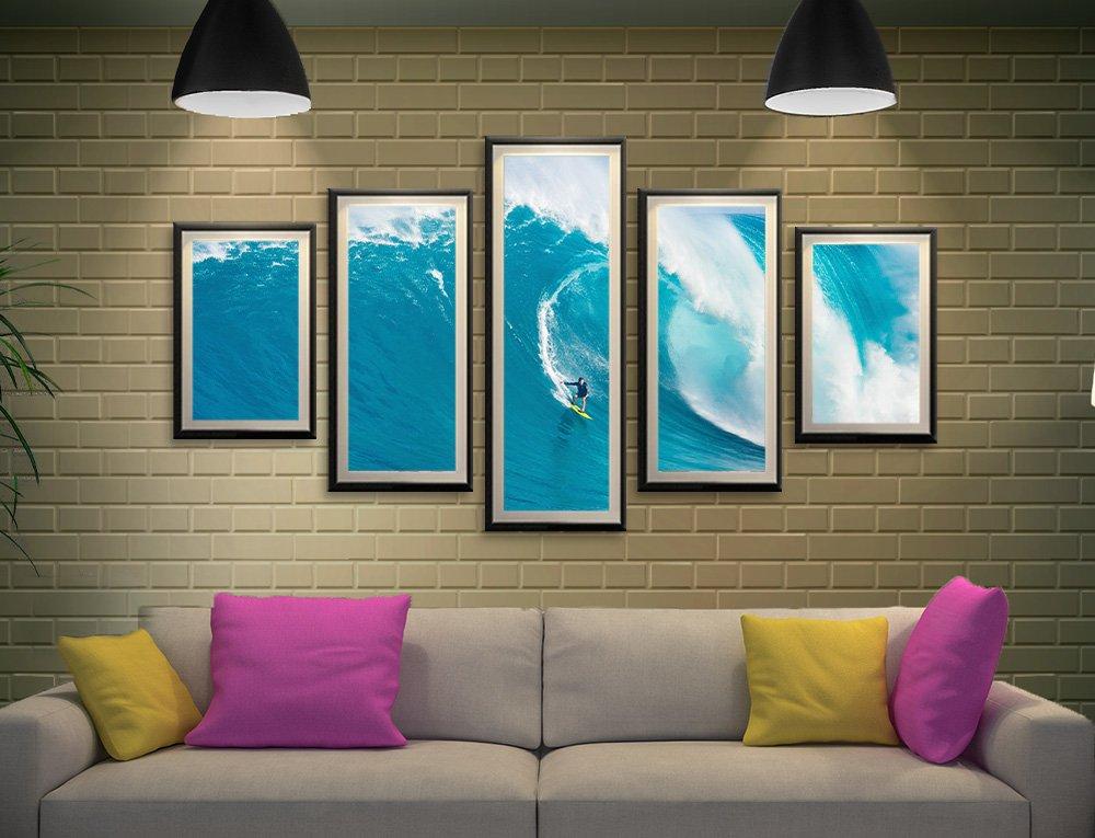 Big Sets Framed Surf Art Gallery Sale Online