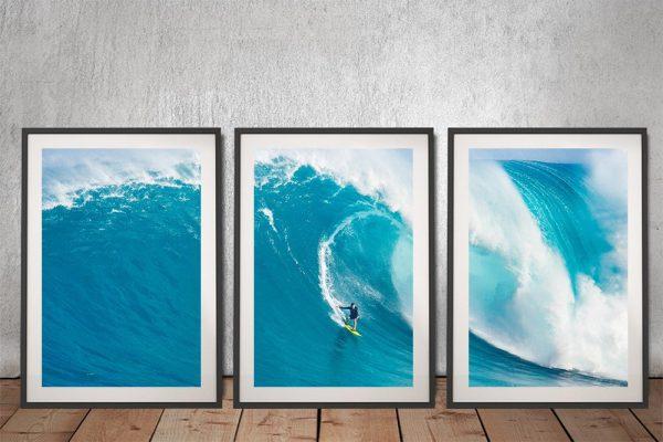 Big Sets Framed Surf Art Great Gift Ideas AU
