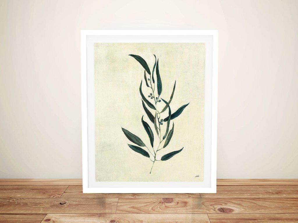 Framed Affordable Vintage Effect Floral Art