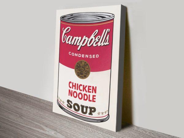 Campbell Soup Warhol Wall Art