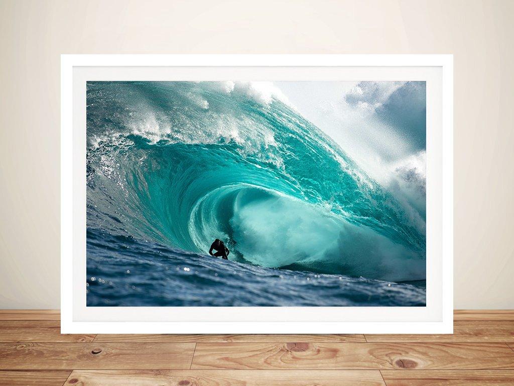 Chris Ross Cast the Right Surf Art Print